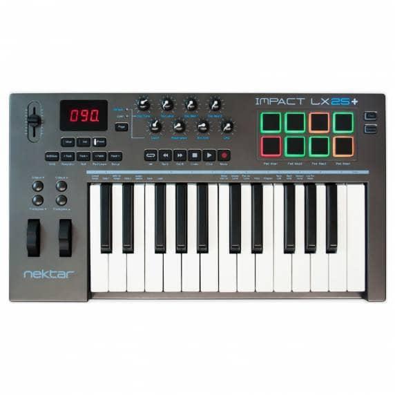 Nektar LX25+ 25 Key Midi Keyboard