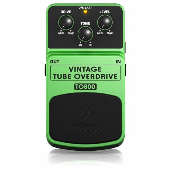 Behringer TO800 Overdrive Guitar Effects Pedal