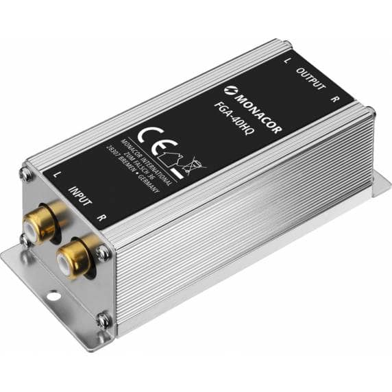 Monacor FGA-40HQ High-End Ground Loop Isolator