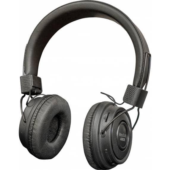 Soundlab Wireless Bluetooth Headphones with Built-in FM Radio