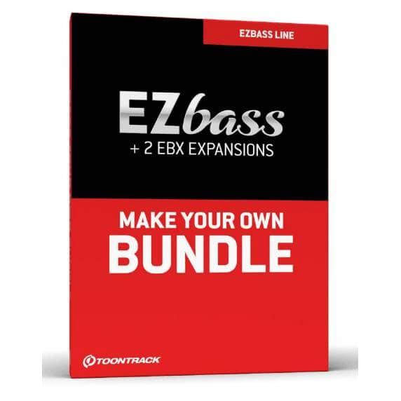 Toontrack EZBass Bundle - EZBass & 2x EBX Expansions of Choice