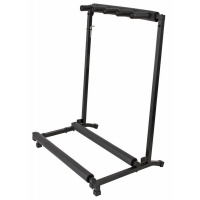 Inta Audio 4 Way Guitar Stand - Guitar Folding Rack - Fully Built and Ready to Use