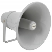 Adastra Heavy Duty Round Horn Speaker, 100V Line, 30W - IP66