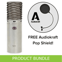 Aston Microphones Aston Spirit Condenser Microphone with FREE AudioKraft Pop Shield