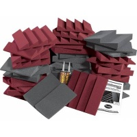 Auralex D36-DST Acoustic Foam Kit (Burgundy)