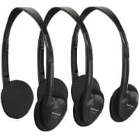 Behringer HO 66 Stereo Headphones Pack of 3