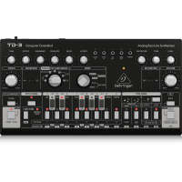 Behringer TD-3 Analog Bass Line Synthesizer - Black
