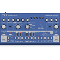 Behringer TD-3 Analog Bass Line Synthesizer - Blue