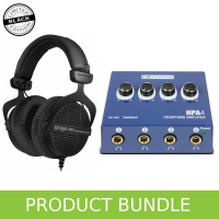 Beyerdynamic DT990 (Ltd Edition) & LD Systems Headphone Amp Bundle