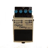BOSS DD-7 Digital Delay Compact Guitar Effects Pedal