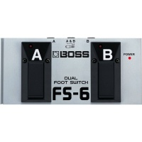 BOSS FS-6 Switchable Momentary/ Latch Dual A/B Footswitch