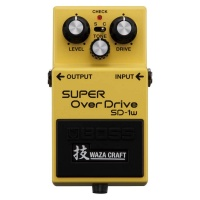 Boss SD-1W Waza Craft Analogue Overdrive Guitar Effects Pedal - EX DEMO