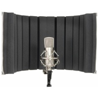 Citronic Studio Microphone Vocal Booth ARC SCREEN