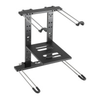 Adam Hall DJ Laptop Stand for PC or Mac - B STOCK