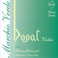 Dogal Violin Strings Set V21/A - Green Label - 1/2-1/4