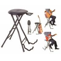 Kinsman Guitarist Dual Stool / Stand - Guitar Holder (B-STOCK)