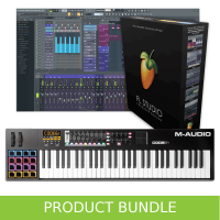 Inta Audio M-Audio Code 61 Keyboard and FL Studio 20 Producer Bundle