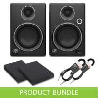 Mackie CR3 Limited Edition Pads & Cables Bundle