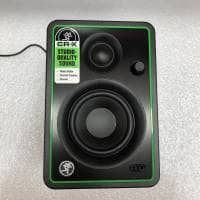 "Mackie CR3-X 3"" Studio Monitors with Adam Hall Isolation Pads Bundle (B-Stock)"