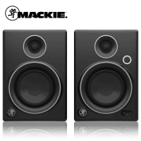 Mackie CR4 Studio Monitors - Limited Edition Silver (Pair) - B Stock