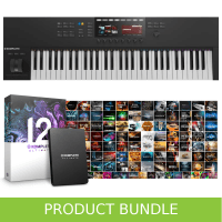 Native Instruments Komplete Kontrol S61 MK2 & Komplete 12 ULTIMATE Bundle