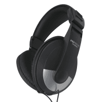 Pro Signal Pro-Signal HiFi Stereo Headphones, On-Ear, Closed Back (Black/Silver)