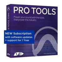 Avid Pro Tools 2020 Annual Subscription Renewal (Serial Download)
