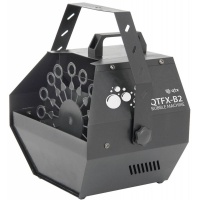 QTX Bubble Machine - Portable Effects Machine For Parties/Discos - Mains Powered