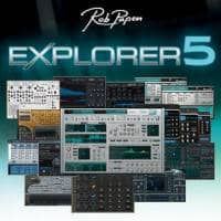 Rob Papen eXplorer 5 XGRADE from 1 RP Product (Serial Download)