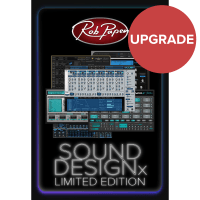 Rob Papen Sound Design-X Bundle UPGRADE from Blue II/Punch 2/Blade (Serial Download)