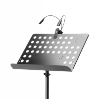 Adam Hall Sheet Music Stand Holder with SLED2PRO Light (SMS17SET1)