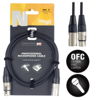 Stagg 15m Premium XLR Microphone Cable with REAN Connectors