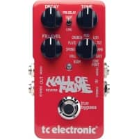 TC Electronic Hall of Fame Reverb Guitar Effects Pedal