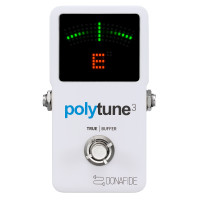 TC Electronic Polytune 3 – Ultra Compact Polyphonic Tuner