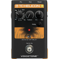 TC-Helicon TC HELICON Voicetone E1 - Echo & Tap Delay Stompbox