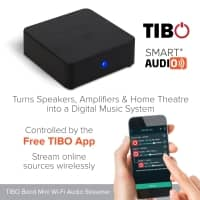 TIBO BOND WiFi Audio Receiver - Bluetooth Alternative