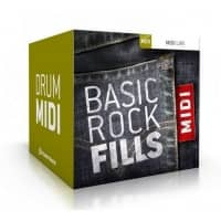 Toontrack Basic Rock Fills (MIDI Pack)  (Serial Download)