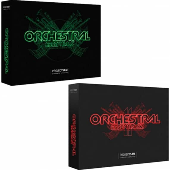 ProjectSAM Orchestral Essentials 1 & 2 Bundle (Serial Download)