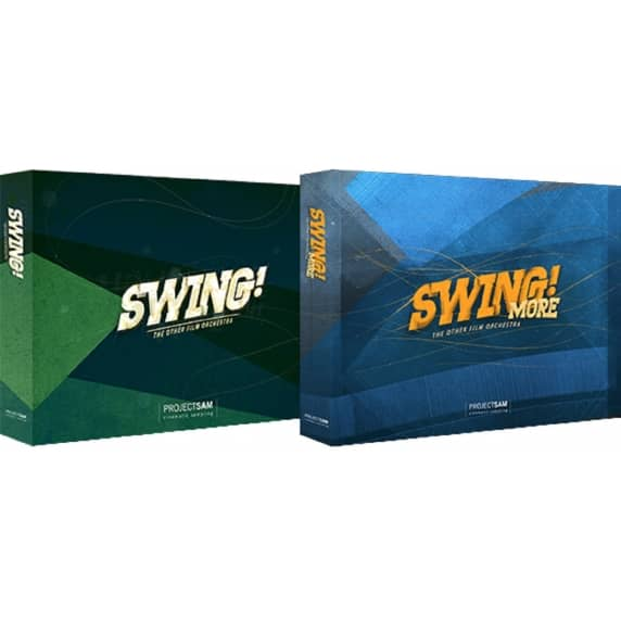 ProjectSAM Swing Bundle - Jazzy Film Scoring Library (Serial Download)