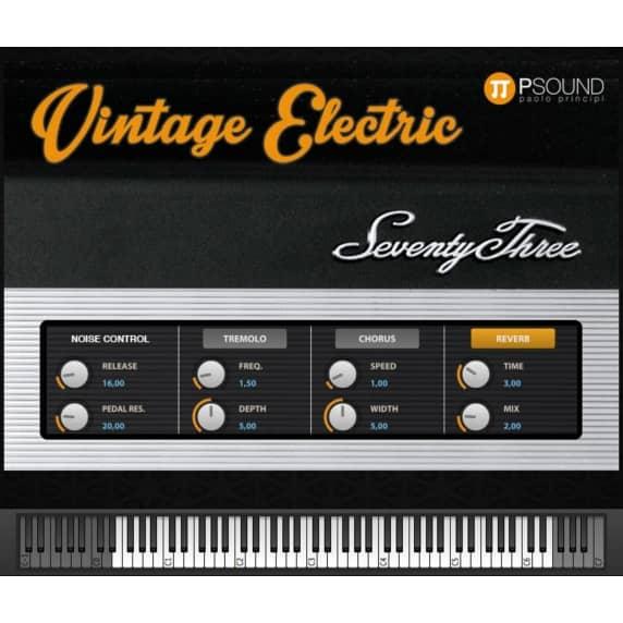 PSound Vintage Electric Virtual Instrument (Serial Download)