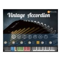 PSOUND Vintage Italian Accordion Virtual Instrument Software (Serial Download)