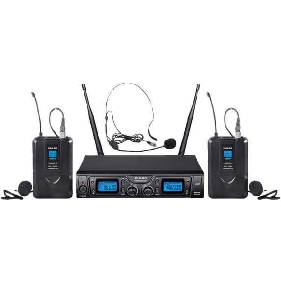 Pulse Dual Lavalier/Lapel Wireless Mic System