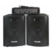 Pulse PMH200 Kit - PA System PA Head and Speakers