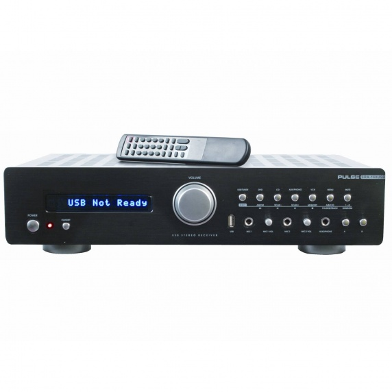 Pulse SRA-160 4Ch 160w Stereo Amplifier With FM Tuner
