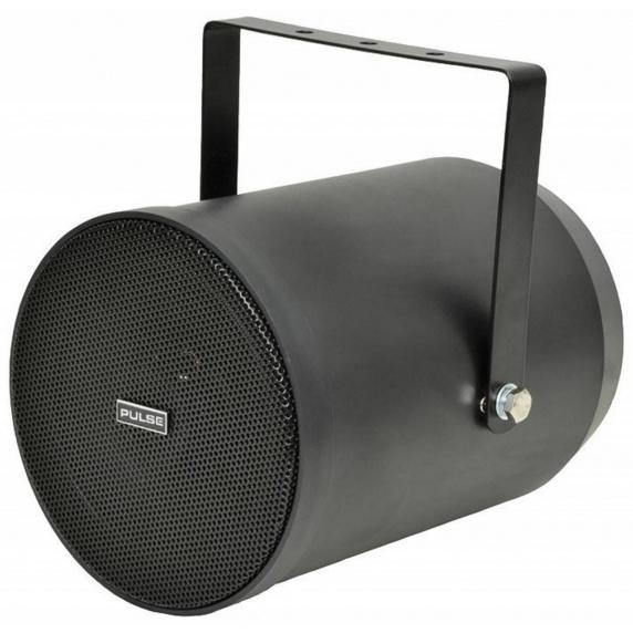 Pulse VPS25 100V Outdoor Weatherproof Speaker - Black