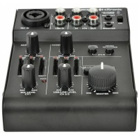 Citronic Q-Mix3 2 Channel Battery Powered Compact Mixer