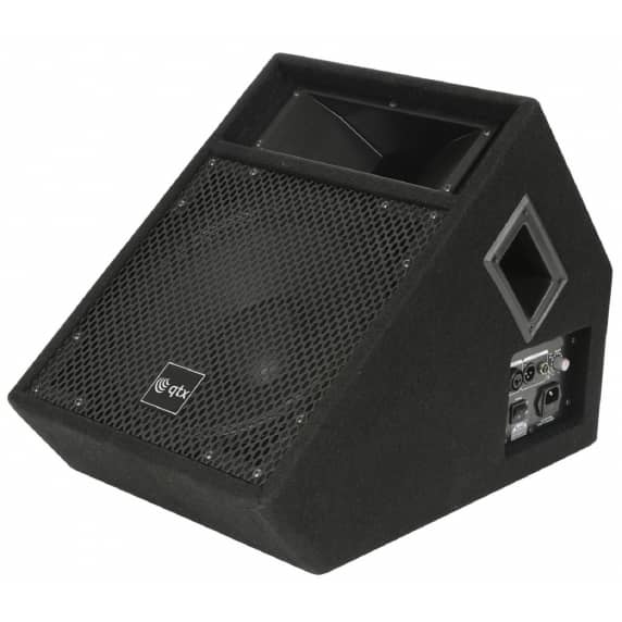 QTX 150w Active Wedge PA Monitor Speaker