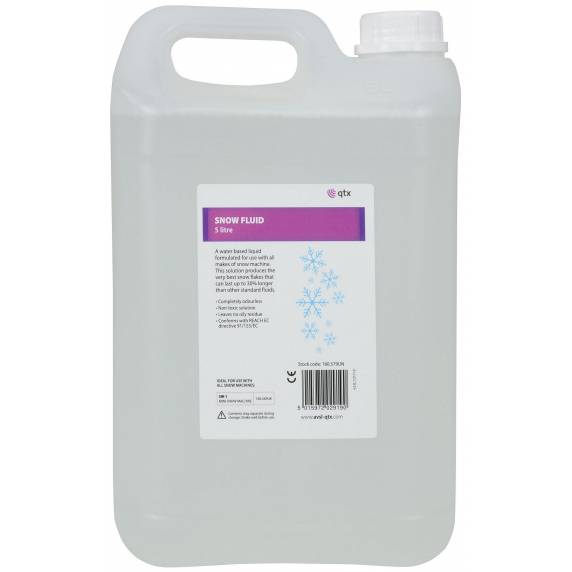 QTX 5 litre of snow fluid