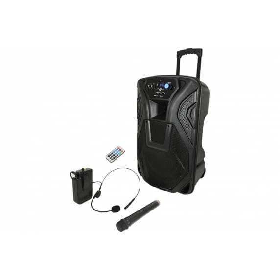 QTX Busker 100W 15inch Battery Powered Portable PA