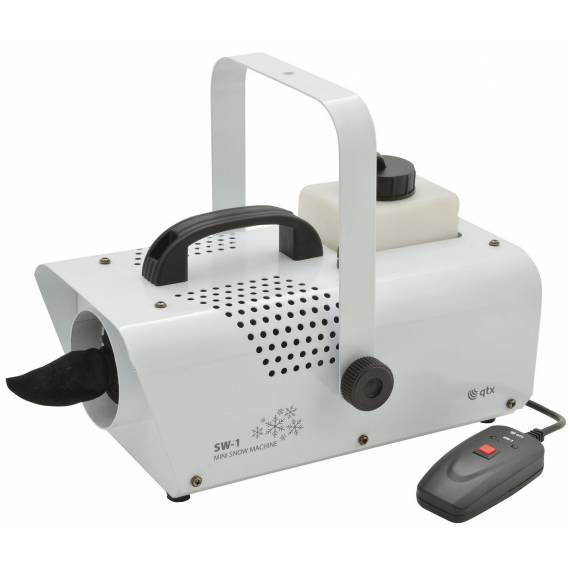 QTX Mini Snow Machine - Portable Effects Machine For Children's/Christmas Parties